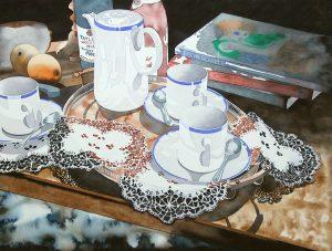 The coffee set