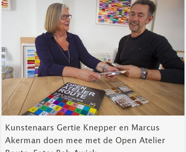 Bussum Nieuws interview Marcus Akerman Open Atelier Routre